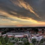 Söderhamn från Östra berget...