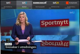 Sportnytt på SVT Play