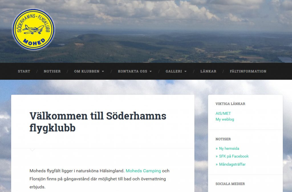 soderhamnsflygklubb.se